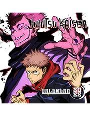 Jujutsu Kaisen Calendar 2022: Anime-Manga OFFICIAL Calendar 2021-2022 ,Calendar Planner 2022-2023 with High Quality Pictures for Fans Around the World!