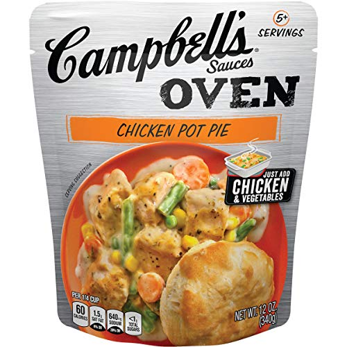 (Campbell's Oven Sauces Chicken Pot Pie, 12 oz. (Pack of 6))