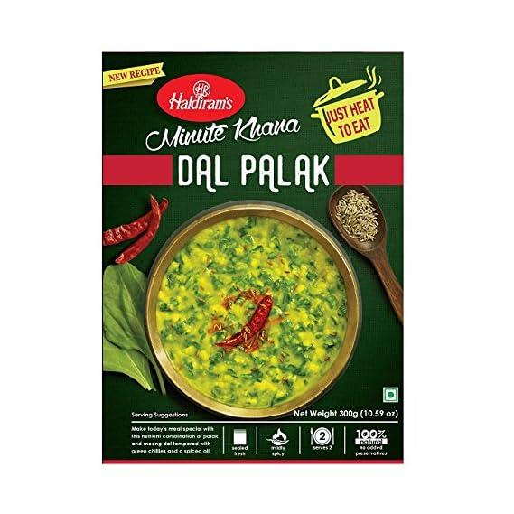 Haldiram's Delhi Dal Palak, 300g