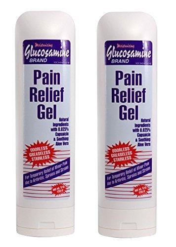 Concept Laboratories Glucosamine Pain Relief Gel Value Pack - 2 Bottles Net Wt. 9 oz each