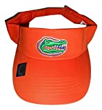 Florida Gators Adult Team Logo Visor, Orange