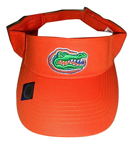 Florida Gators Adult Team Logo Visor, Orange by Collegiate Headwear