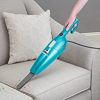 Bissell Featherweight Stick Bagless Vacuum - in use handheld couch with attachment