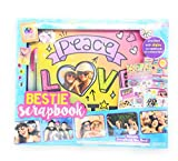 4square4life Forever Friends Bestie Hardcover 15 Sheet Scrapbook And Accessories