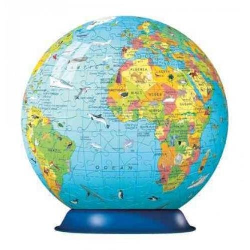 Children's Globe (With Info-booklet): 270 Piece 3d