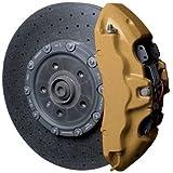 Foliatec 2165 Kit Verniciatura Pinze Freni, 3 Componenti, Oro Metallizzato