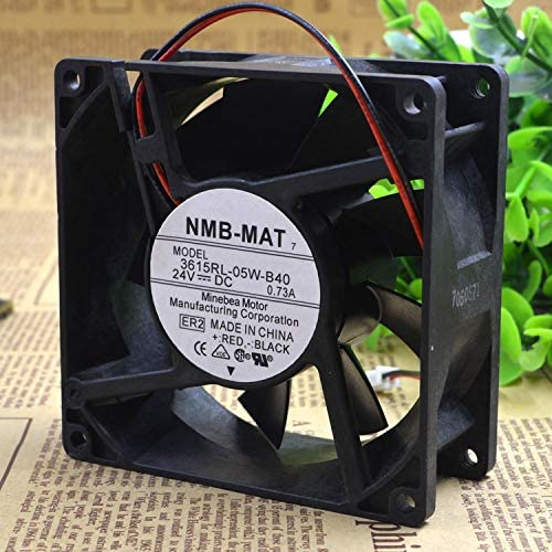 Cytom for NMB-MAT 3615RL-05W-B40 9038 9CM 24V 0.73A Waterproof Inverter Fan