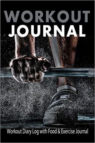 workout journal workout diary log with food exercise journal