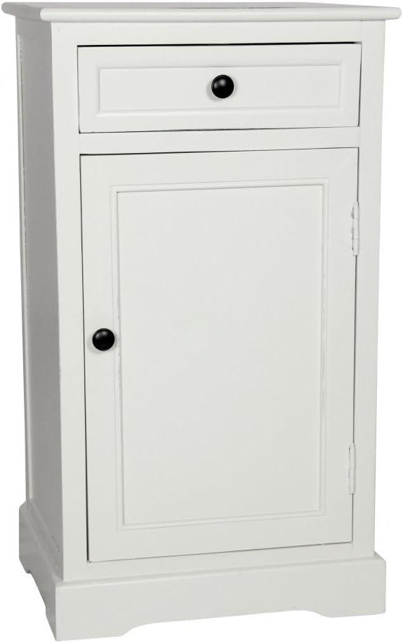 Oriental Furniture Classic Design Nightstand - White