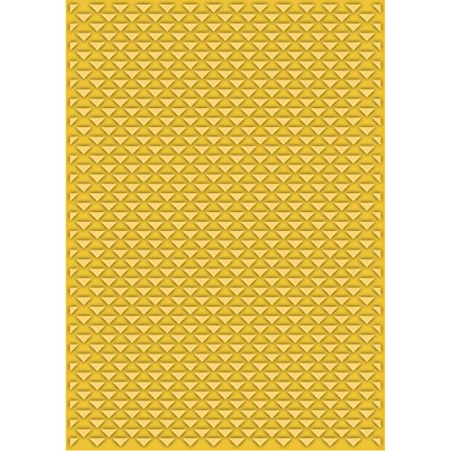 Craftwell USA Teresa Collins Embossing Folder, Love Triangles by Craftwell USA