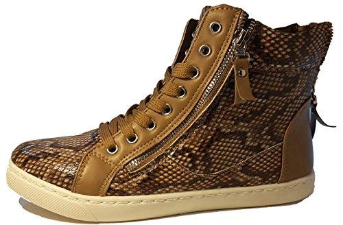 Boots W Femme Desert 3 Hohenlimburg Schlangenoptik gS6wp