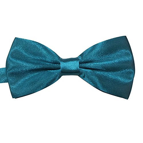 Banded Bow Blue Various AINOW tied Colors Formal Satin Tie Pre Bowties Mens Acid qnaE1
