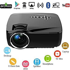 OAKLETREA Android WiFi LED Projector : Good Android Projector