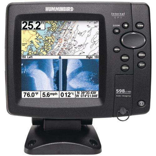 Humminbird 4089501  598Ci HD SI Combo Side Imaging/Down Imaging DualBeam Fishfinder and GPS (Discontinued by Manufacturer)