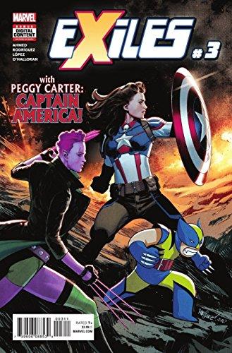 Exiles (2018) #3 VF/NM Peggy Carter Captain America