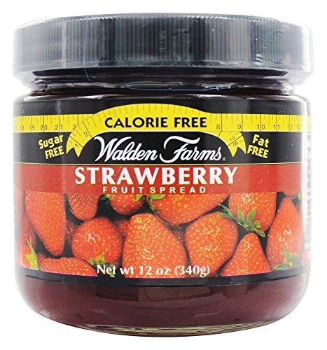 Walden Farms Strawberry Flavoured Spread 340g (Pack of 2) (Kosher Farms Walden Fruit)