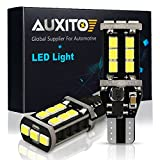 #8: AUXITO 912 921 LED Backup Light Bulbs High Power 2835 15-SMD Chipsets Extremely Bright Error Free T15 906 W16W for Back Up Lights Reverse Lights, 6000K White (Pack of 2)