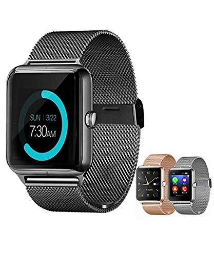 Yirind Smart Bluetooth Watch, with Camera Touchscreen, Sport Wrist Watches for iPhone/Android/iOS,Black