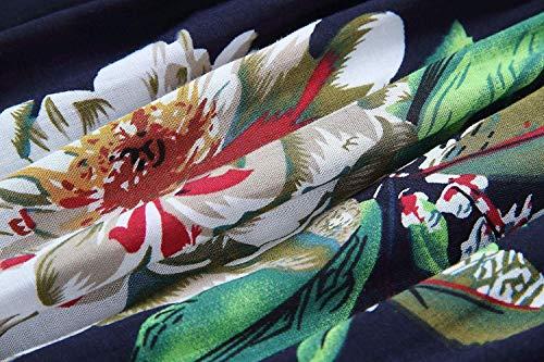 Dos Casual fashion Shirt C Mode Printemps Vetement Shirts Tee Nu Bateau Elgante Impression Shirt HX Femme Modle Manches Fleurs Basic paules Longues Tshirt Encolure Nues lastique q0nTwB4d
