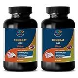 Natural testosterone enhancement pills - TONGKAT ALI EXTRACT (400Mg) - Tongkat ali testosterone - 2 Bottles 120 Capsules