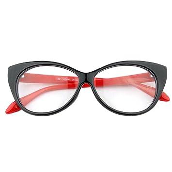 f655b75452 NoyoKere Modern Elegant Cat Eyes Shape Glasses Frame For Ladies Acetate  Optical Frames Retro Plastic Plain