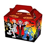 15 x Halloween Party Meal / Treat Boxes