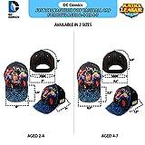 DC Comics Boys Baseball Cap with 3D