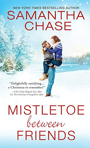 book cover of Mistletoe Between Friends