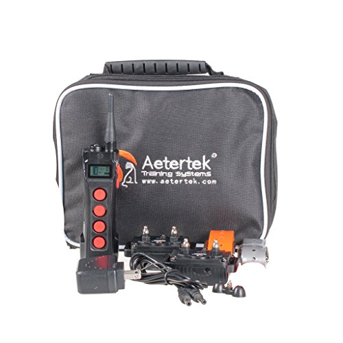 Aetertek-AT-919C-Super-Two-Pet-Dog-Electronic-Shock-Collar-Training-System-For-Sport-Large-Dogs-1000M-Remote-Range-Waterproof-Rechargeable-collars