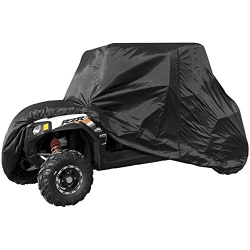 (Polaris RZR 4 Seater Utility Vehicle Black Cover by QuadBoss)