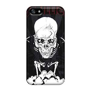 Iphone 5/5s VQU21969TEJL Custom High Resolution Metallica Image High Quality Hard Phone Cases -no1cases