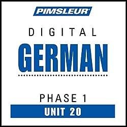 German Phase 1, Unit 20