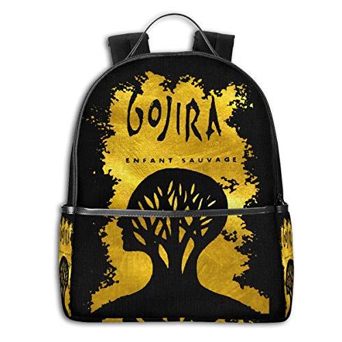 Gojira L'enfant Sauvage Backpack For Men Women Kids Children School Bookbags