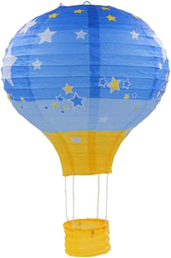 12 Zoll, 30x35cm # 8 Ballon Papier Laterne Papierlampen Lampenschirm f/ür Hochzeit Party Dekoration
