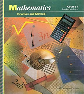 Mathematics: Structure and Method (Course 1): Mary P., Sorgenfrey ...