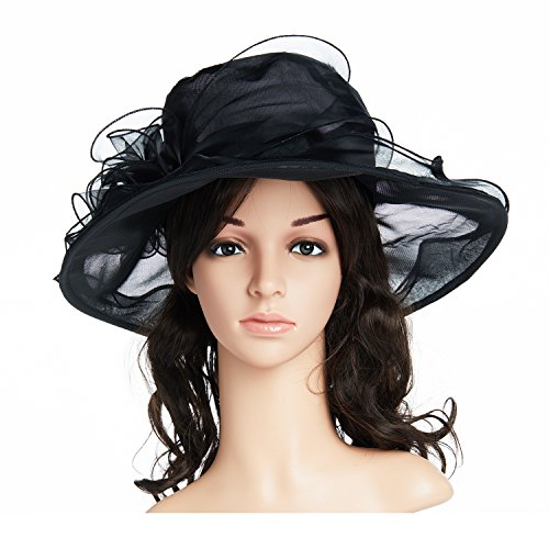 Kentucky Fascinator Flowers Organza British