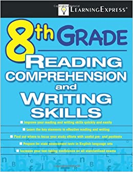 8th Grade Reading Comprehension And Writing Skills Test Amazonco