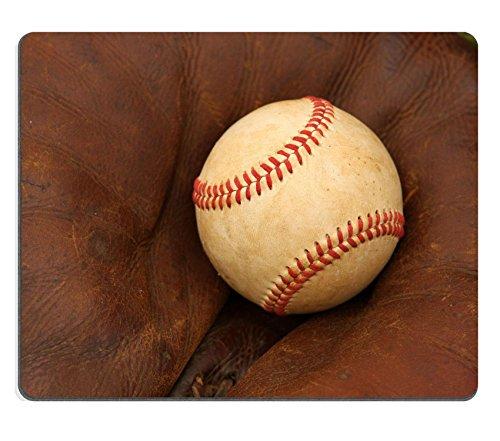 MSD Natural Rubber Mousepad IMAGE 23726697 Baseball in a Catchers Mitt