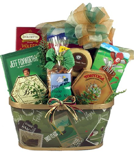 Gift Basket Village Par-Tee On Gift Set, Golf
