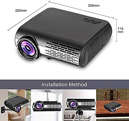 AI LIFE 16000 lúmenes Proyector Inteligente de Video LCD LED ...