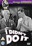 I Didn't Do It [Regions 2 & 4] by George Formby
