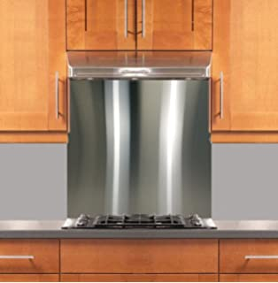 Stainless Steel Backsplash 30 X 30 304 4 Hemmed