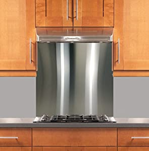 Stainless Steel Backsplash 30 X 30 304 4 Hemmed Edge