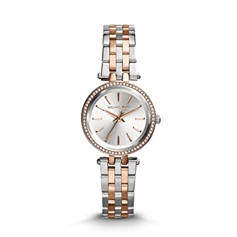 6bda8a7c07cb Amazon.com  Michael Kors Women s Darci Two-Tone Watch MK3298 ...