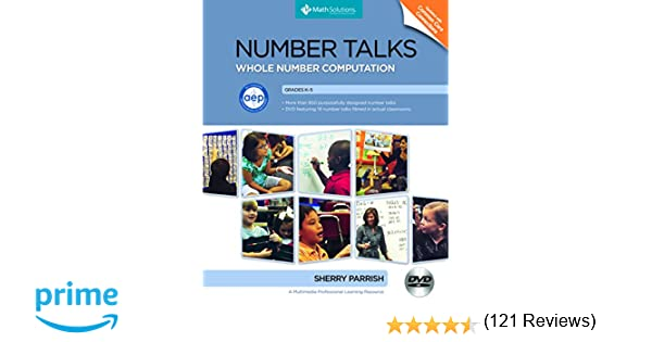 Amazon.com: Number Talks: Whole Number Computation, Grades K-5: A ...