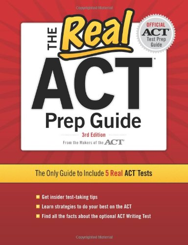 The Real ACT, 3rd Edition (Real ACT Prep Guide) cover