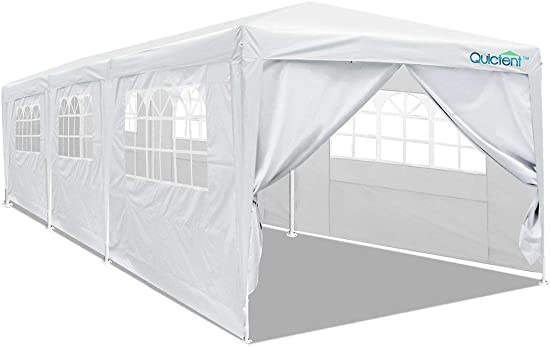 Quictent 10×30 Heavy Duty Party Tent Wedding Canopy Gazebo Outdoor Pavilion