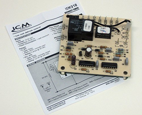 Defrost Control, Goodman B1226008, ICM W1001-4 ()