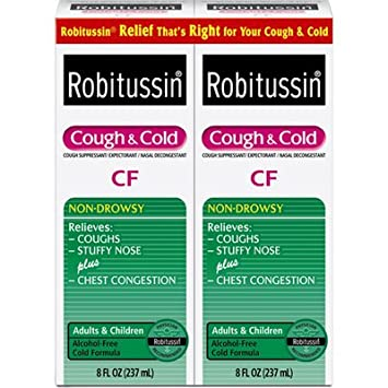 Robitussin Cf Ingredients Wwwgenialfotocom