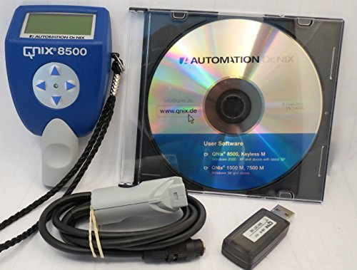 QNix 8500P/Dual 80 mil Probe/ext. Cable, Software & USB Interface by Automation Dr. Nix